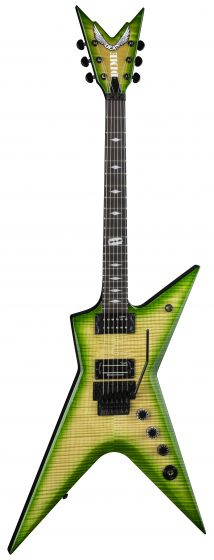 Dean Stealth Floyd FM Dime Slime w/Case Electric Guitar STHF DS STHF DS