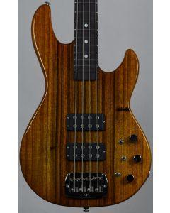 G&L USA Custom Made L-2000 Mango Top Electric Bass in Honeyburst