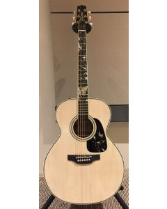 Takamine LTD 2018 Gifu-Cho NEX Acoustic Guitar Glossy Lift-Out Antique White