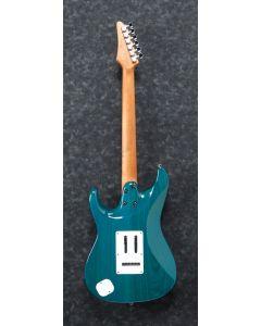 Ibanez AZ Prestige AZ2204F TAB Transparent Aqua Blue Electric Guitar w/Case