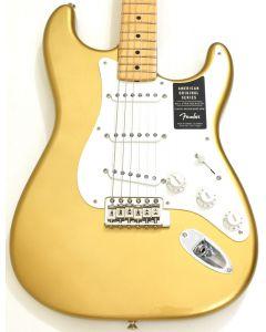 Fender American Original 50s Stratocaster Electric Guitar in Aztec Gold