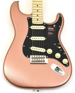 Fender American Performer Stratocaster Electric Guitar in Penny