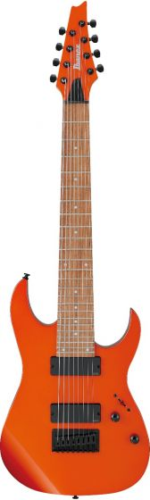 Ibanez RG80E ROM RG Standard 8 String Roadster Orange Metallic Electric Guitar sku number RG80EROM