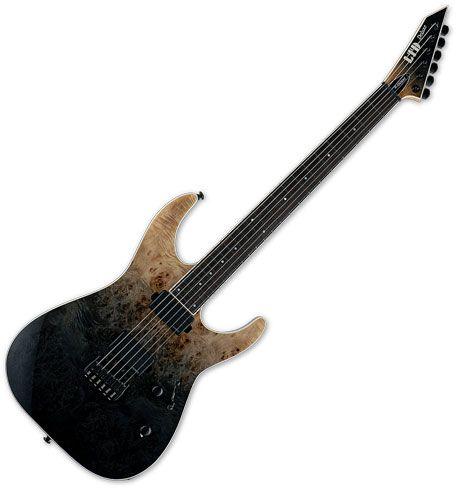 ESP LTD M-1000HT Electric Guitar Black Fade LM1000HTBPBLKFD