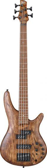 Ibanez SR Standard SR655E 5 String Antique Brown Stained Bass Guitar sku number SR655EABS