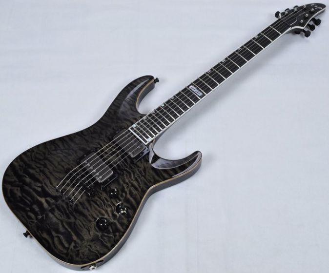 ESP USA Horizon Electric Guitar in See Thru Black EMG EUSHORSTBLKE