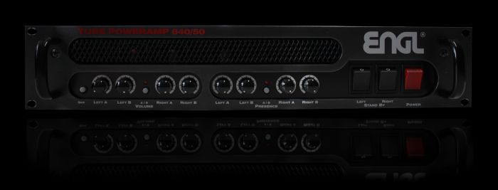 ENGL Amps E840/50 POWER AMP 2X50 WATT sku number E84050