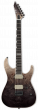 ESP E-II M-II NT Black Natural Fade Electric Guitar w/Case EIIMIINTHSBLKNFD
