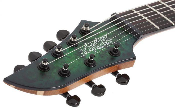 Schecter MK-7 MK-III Keith Merrow Standard Left Handed Guitar Toxic Smoke Green sku number SCHECTER833