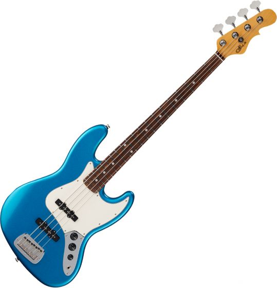 G&L Fullerton Deluxe JB Electric Bass Lake Placid Blue sku number FD-JB-LPB-CR