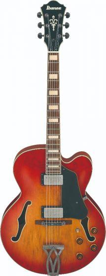 Ibanez AFV75 VAL AFV Artcore Vintage Amber Burst Low Gloss Hollow Body Electric Guitar sku number AFV75VAL