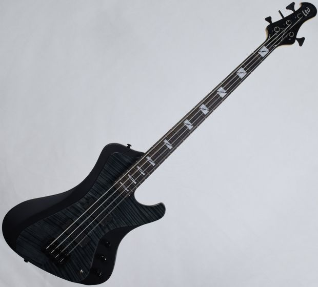 ESP LTD John Campbell JC-4FM Signature Electric Bass See Thru Black Satin Sides LJC4FMSTBLKSS