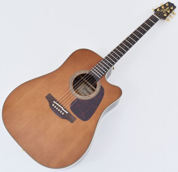 Takamine P5DC-WB Dreadnought Acoustic Electric Guitar Whiskey Brown B-Stock TAKP5DCWB.B