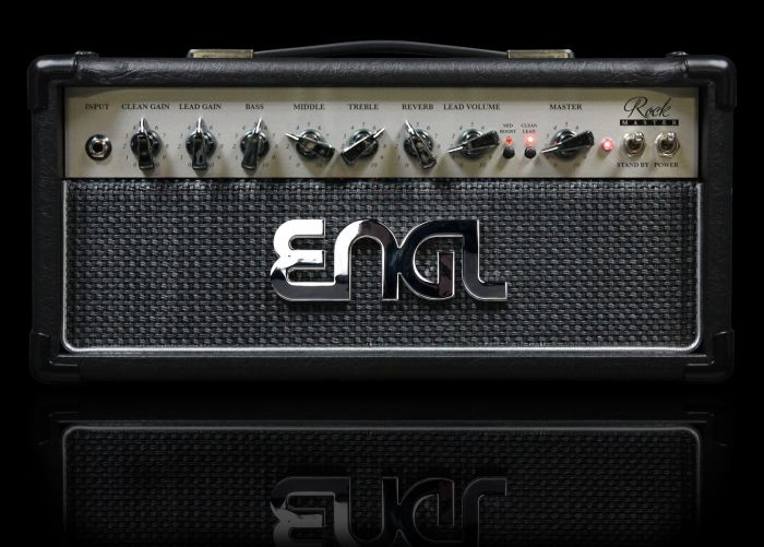 ENGL Amps ROCKMASTER E307 20 Watt HEAD (REVERB POWERSOAK) sku number E307