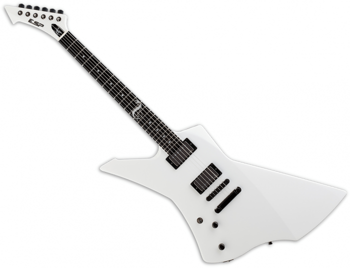 ESP James Hetfield Snakebyte Signature Left-Handed Electric Guitar Snow White ESNAKEBYTESWLH