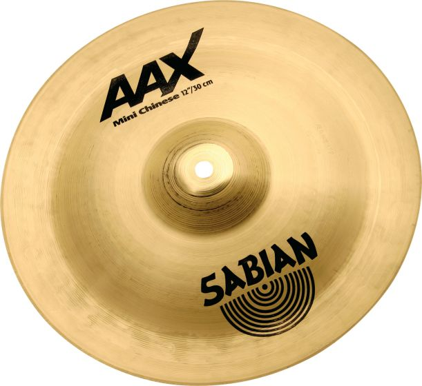"""Sabian 12"""" AAX Mini Chinese Brilliant Finish 21216XB"""