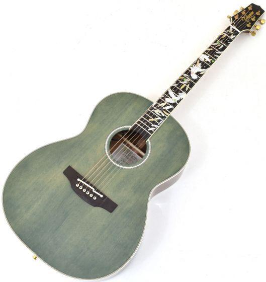 Takamine LTD2020 Peace Acoustic Electric Guitar Green Tea Gloss TAKLTD2020PEACE