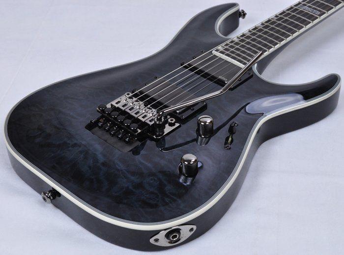 ESP LTD Deluxe MH-1001FR Electric Guitar in See Thru Black LMH1001FRSTBLK