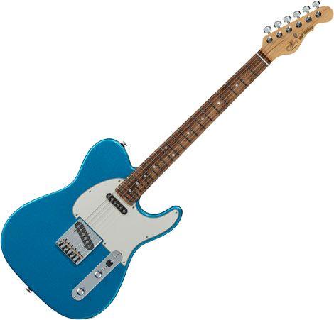 G&L Fullerton Deluxe ASAT Classic Electric Guitar Lake Placid Blue FD-ACL-LPB-CR