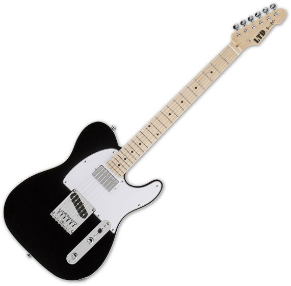 ESP LTD Ron Wood Black Guitar LRONBLK