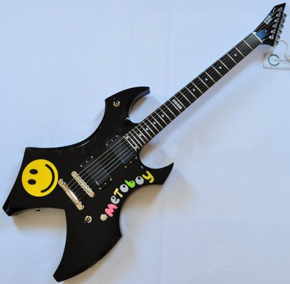ESP Metin Türkcan Metoboy Electric Guitar with Case 3657DCGLMETOBOYBLK