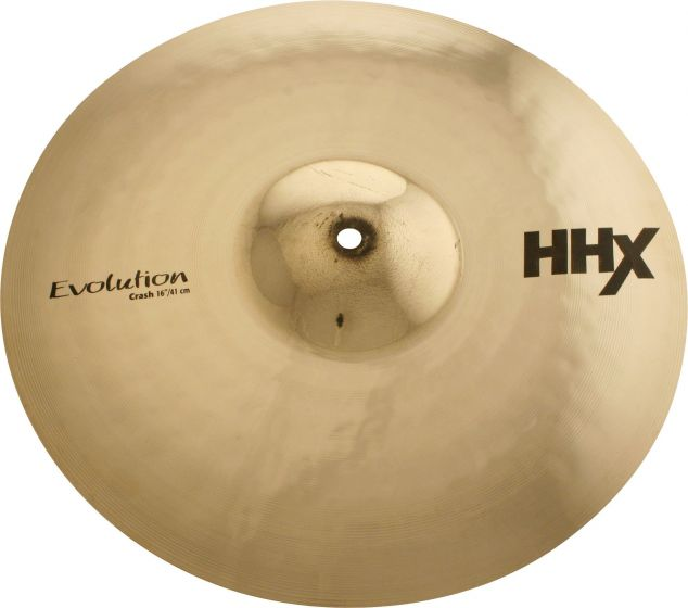 "Sabian 16"" HHX Evolution Crash Brilliant Finish 11606XEB"