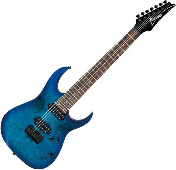 Ibanez RG7421PB Electric Guitar Sapphire Blue Flat RG7421PBSBF