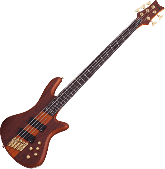 Schecter Stiletto Studio-5 FF Electric Bass Honey Satin SCHECTER2794
