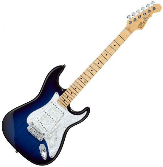 G&L Legacy USA Fullerton Deluxe in Blue Burst sku number FD-LGCY-BLB-MP