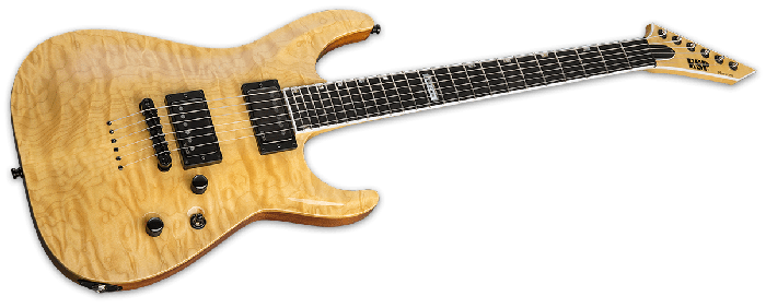 ESP USA Horizon-II Electric Guitar in Vintage Natural EMG EUSHORIIVNATE