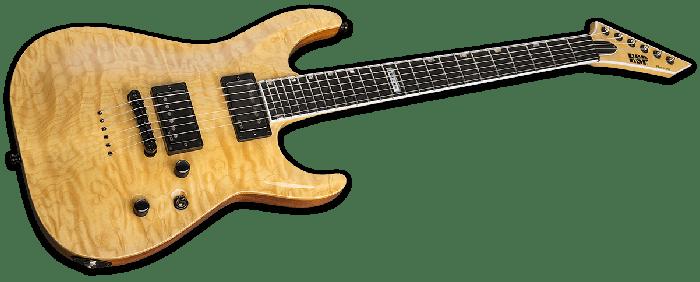ESP USA Horizon-II Electric Guitar in Vintage Natural EMG sku number EUSHORIIVNATE