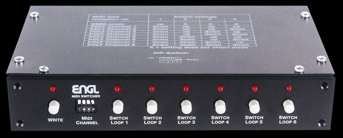 ENGL Amps Z-11 S.A.C MIDI SWITCHER sku number Z11