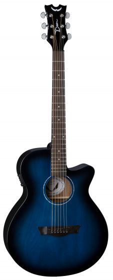 Dean AXS Performer Acoustic Electric Guitar Blue Burst AX PE BB AX PE BB
