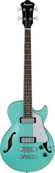 Ibanez AGB260 Artcore 4 String Electric Semi-Hollow Body Sea Foam Green Bass Guitar sku number AGB260SFG