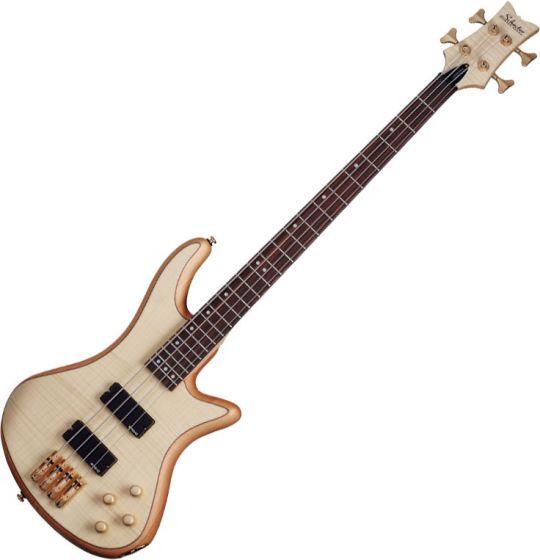 Schecter Stiletto Custom-4 Electric Bass Gloss Natural SCHECTER2531
