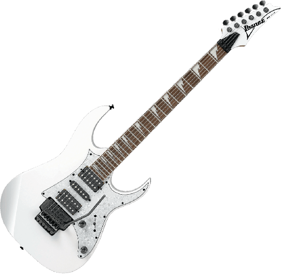 Ibanez RG Standard RG450DXB Electric Guitar in White RG450DXBWH
