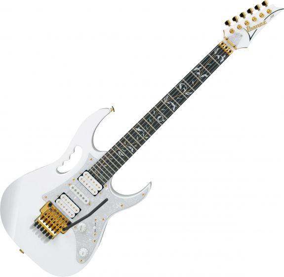 Ibanez Steve Vai Signature JEM7V Electric Guitar White JEM7VWH