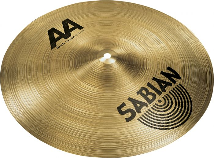 "Sabian 16"" AA Rock Crash 21609"