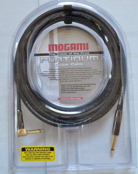 Mogami Platinum Guitar R Cable 12 ft. PLATINUM GUITAR-12R