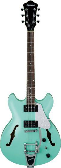 Ibanez AS63T SFG AS Artcore Vibrante Sea Foam Green Semi-Hollow Body Electric Guitar sku number AS63TSFG