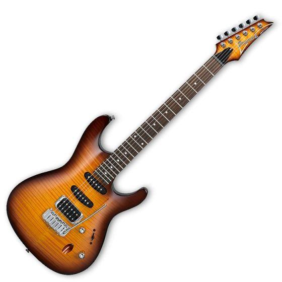 Ibanez SA Standard SA160FM Electric Guitar in Brown Burst Flat SA160FMBBT
