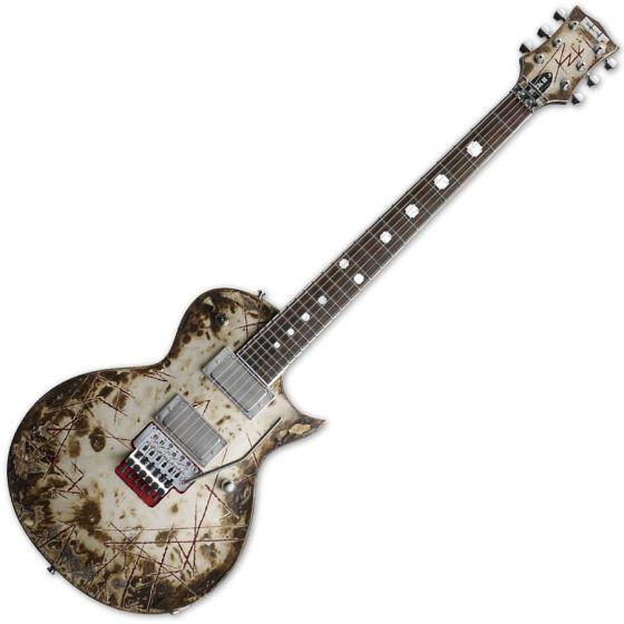 ESP Richard Z RZK-II Burnt Electric Guitar with Case ERZKII