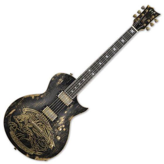 ESP Will Adler Warbird Distressed Signature Electric Guitar EWILLWARBIRDDB