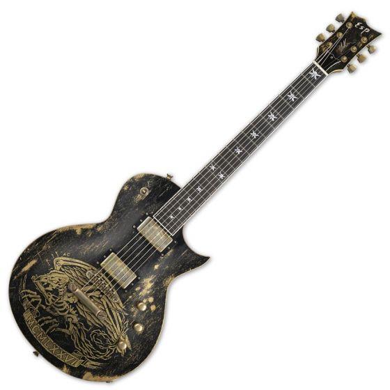 ESP Will Adler Warbird Distressed Signature Electric Guitar sku number EWILLWARBIRDDB