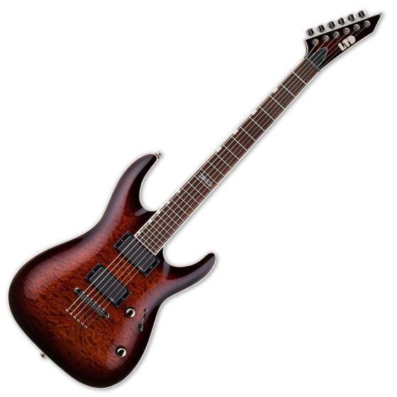 ESP LTD MH-350NT Electric Guitar in Dark Brown Sunburst B-Stock sku number LMH350NTDBSB.B