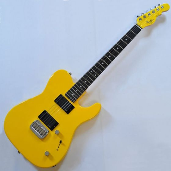 G&L ASAT Deluxe USA Custom Made Guitar in Yellow Fever 104103