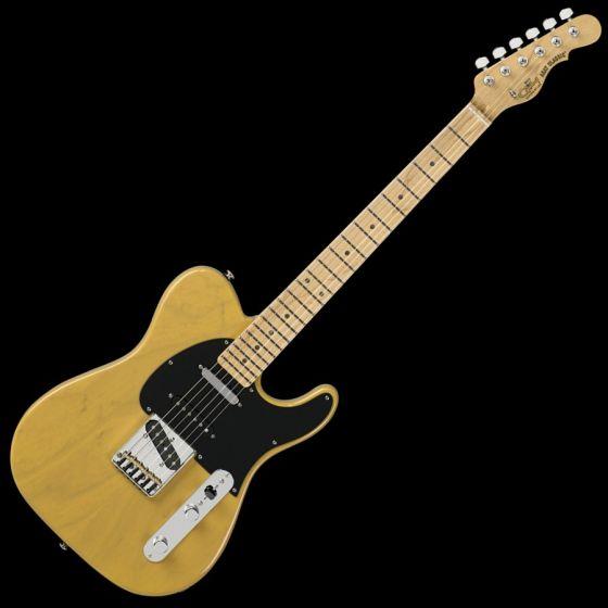 """G&L ASAT Classic """"S"""" USA Custom Made Guitar in Butterscotch 105025"""