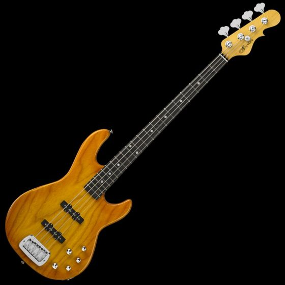 G&L MJ-4 USA Custom Made Electric Bass in Honeyburst 106934
