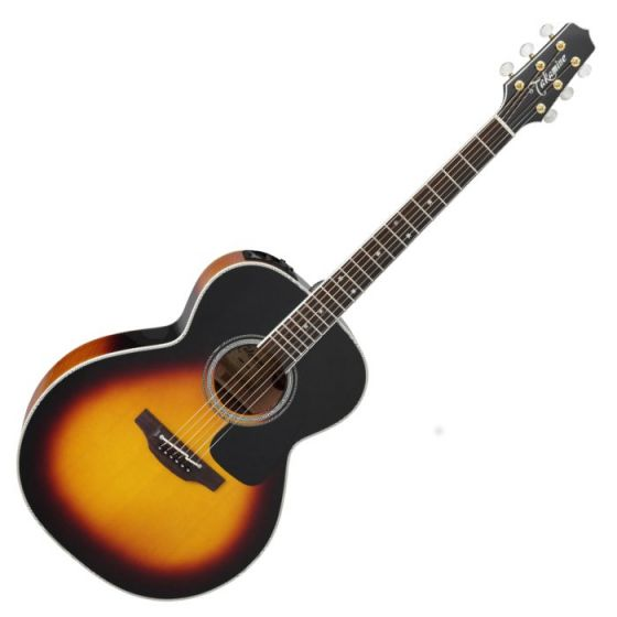 Takamine P6N BSB Pro Series 6 Acoustic Guitar in Brown Sunburst Finish TAKP6NBSB