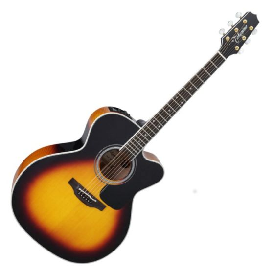 Takamine P6JC BSB Pro Series 6 Cutaway Acoustic Guitar in Brown Sunburst Finish TAKP6JCBSB